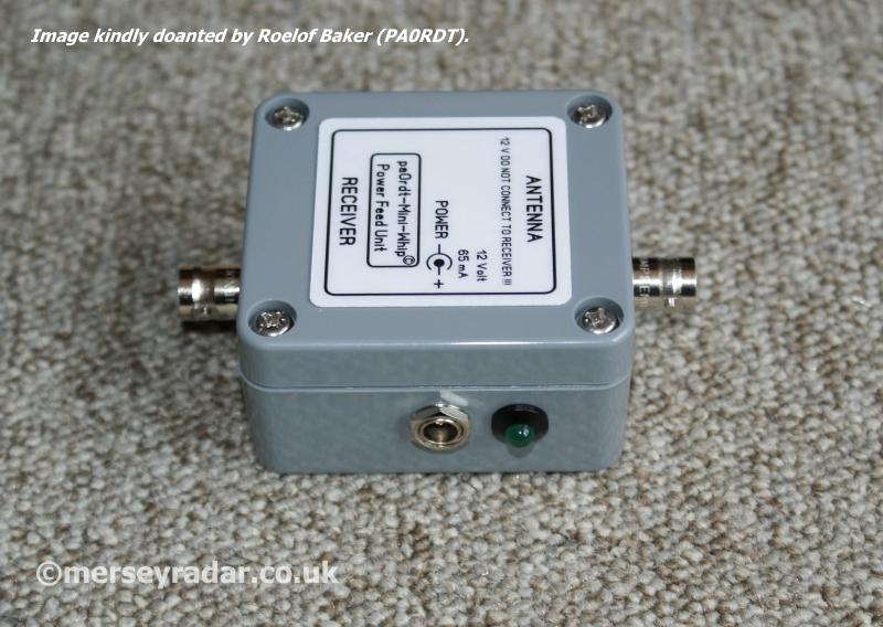 HF Receiving antenna, The PA0RDT mini-whip  – Mersey Radar